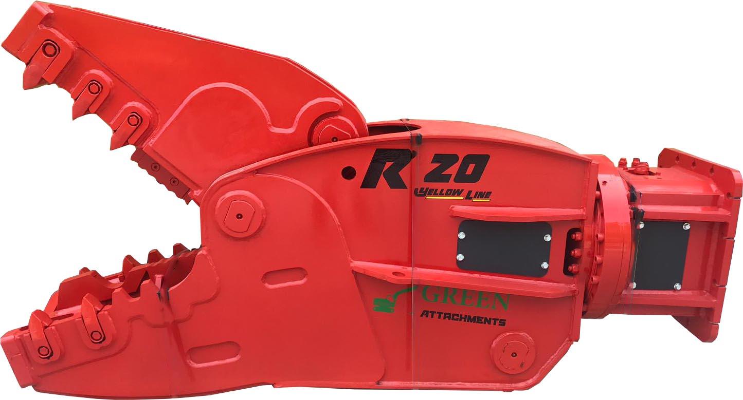 Гидроножницы с ротатором для измельчения бетона